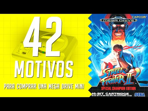 Street Fighter II' Special Champion Edition. 42 motivos para comprar una Mega Drive Mini. (26/42)