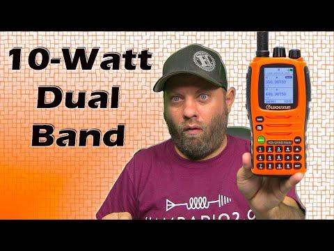 Wouxun KG-UV9D MATE 10-Watt Dual Band Ham Radio Unboxing