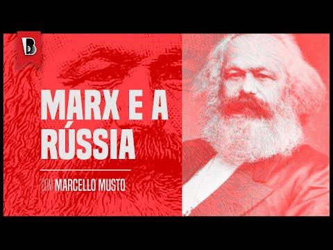 Por que Marx decidiu aprender russo no final da vida?