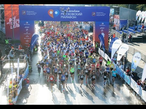 В столице прошел Московский марафон