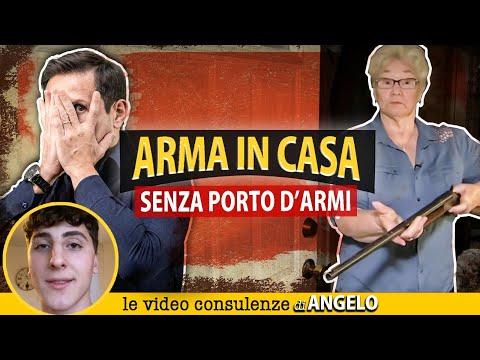 ARMA in casa SENZA PORTO D'ARMI è reato?   Avv. Angelo Greco