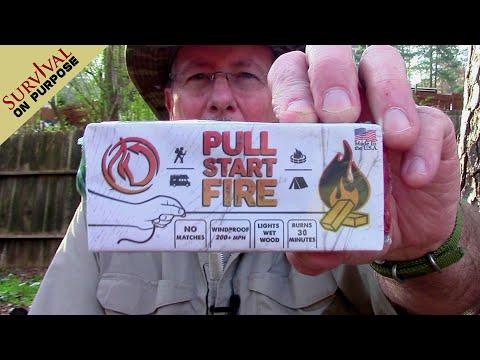 Pull Start Fire Starter (Pull String Fire Starter) - Does It Really Work?