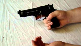 How To safely Load/UnLoad a Beretta M9