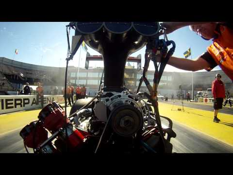 Onboard video Micke Kågered Top Fuel