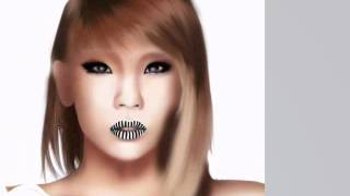 2ne1 - CL Drawing Cover