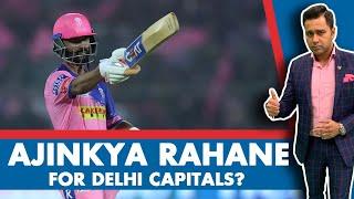 #IPL2020: Ajinkya RAHANE for DELHI CAPITALS? | #AakashVani EXTRA