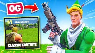 Welcome to *CLASSIC* Fortnite Battle Royale!