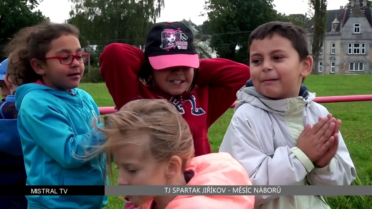 Měsíc náborů září 2017 - Jiříkov