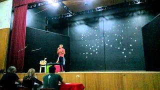 Crismael Muniz no FESC (Festival Estudantil da Canção) Capanema - PR