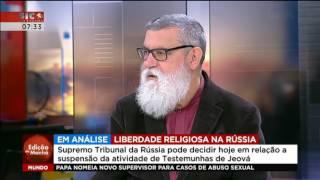 Liberdade Religiosa ameaçada na Rússia - Testemunhas de Jeová