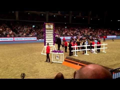 London Olympia Horse Show 2014 Shetland Pony race part 2