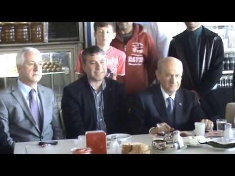 MHP Genel Başkanı Devlet Bahçeli Salihli'de Mola Verdi -Sektör Gazetesi