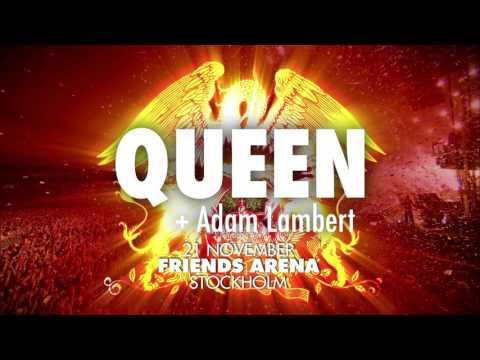 QUEEN + ADAM LAMBERT - 21 NOV 2017 - FRIENDS ARENA, STOCKHOLM