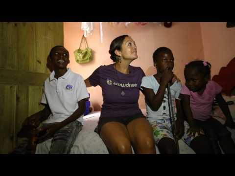 Chantale Pays It Forward in Haiti
