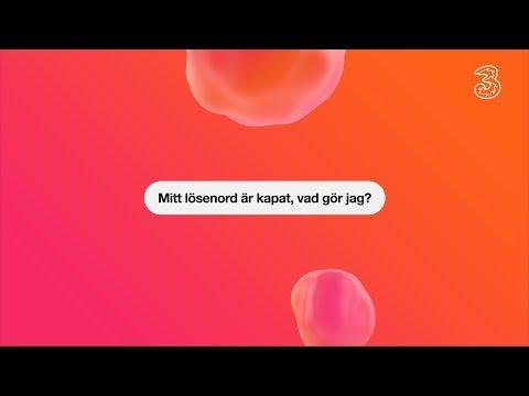 Tre svarar: Kapat lösenord   Tre Sverige