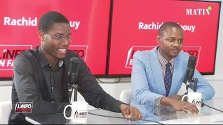 L'Info en Face 100% jeunes avec K. Mignon Bongo Rodman et Bah Mamadou Mountaga