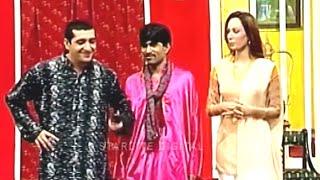 Best Of Zafri Khan and Sajan Abbas New Pakistani Stage Drama Full Comedy Funny Clip width=