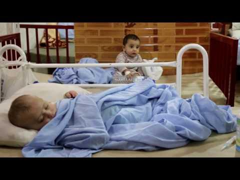 Barnen i östra Aleppo