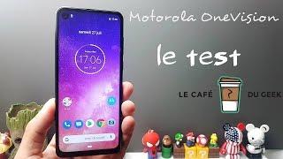 Vidéo-Test : Motorola One Vision le test : Android one et bon en photo