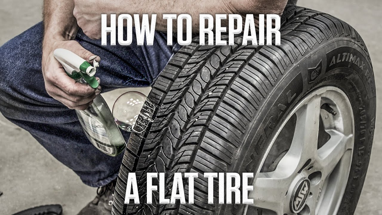 DIY: How to fix that flat tire with some easy DIY tire plugs thumbnail