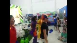 Vídeo dança no Arco Iris