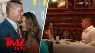 John Cena & Nikki Bella Whine and Dine | TMZ TV