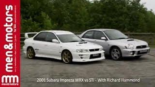 2001 Subaru Impreza WRX vs STi - With Richard Hammond width=