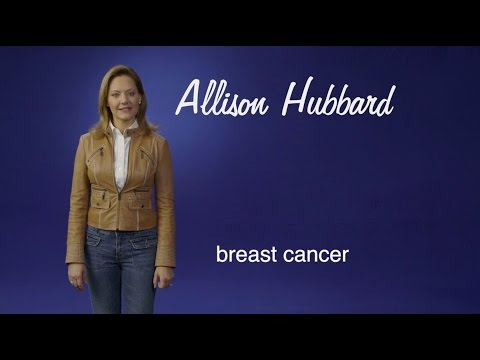 Allison Hubbard: With breast cancer in my family, I wanted Baylor by my side.