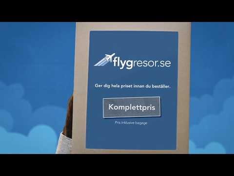 Komplettprisknappen - Flygresor.se (6 sekunder)