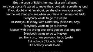 MAFIA 3  trailer - Ice Cube -  Nobody wants to die [LYRICS]