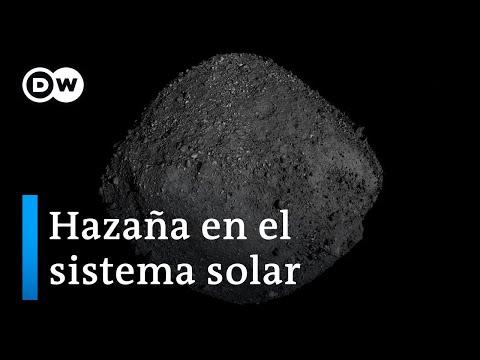NASA aterriza en un asteroide