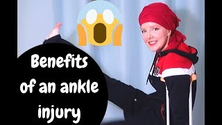 Benefits of an ankle sprain