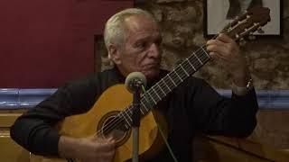 """Pepe Miranda del Trio Canteras canta en """"la Bohemia"""" en Madrid"""