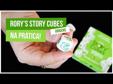 Rory's Story Cubes: Origens, na prática!