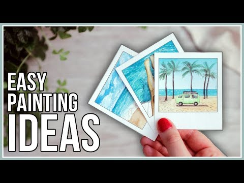 Summer Watercolor Painting Ideas for Beginners