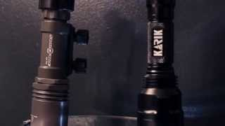 Karik KT1 Tactical Light Test