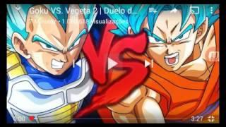 Duelo de titãs goku vs vegeta 2