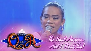 It's Showtime Miss Q & A Grand Finals: Elsa Droga Mendoza | Balaka Judge