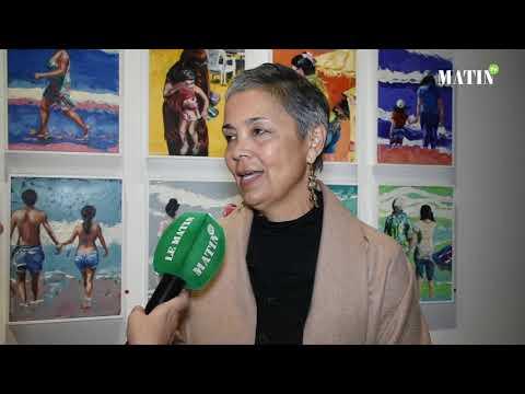 Video : Galerie Bab El Kébir : Malika Demnati expose son «Vivre ensemble»