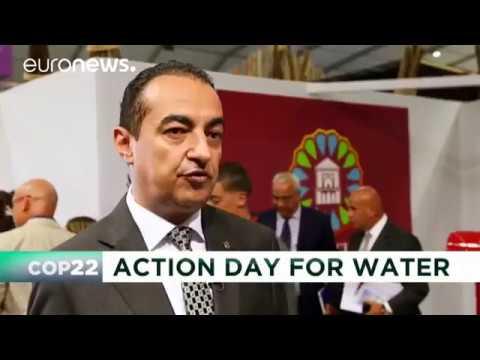 Mohamed Dekkak at COP22   agir pour l'eau !
