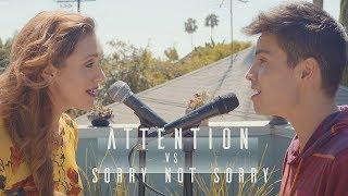 Attention vs. Sorry Not Sorry (Charlie Puth/Demi Lovato MASHUP) - Sam Tsui & Alyson Stoner
