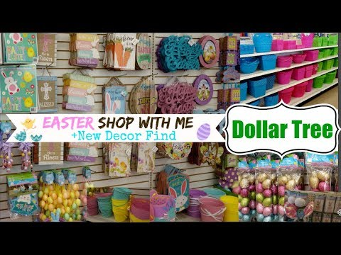 DOLLAR TREE EASTER SHOP WITH ME | FUN NEW FINDS | Momma from scratch