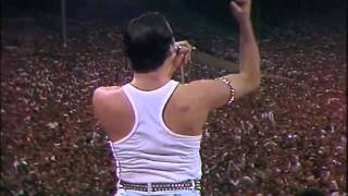 Freddie Mercury ,vocal improvisation live aid ,wembley 85