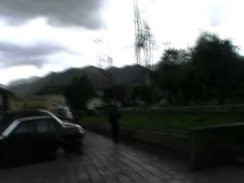Viaje por Sudamerica di Giacomo Sanesi. Cuzco (PER). 01715 – plaza e iglesia san francisco