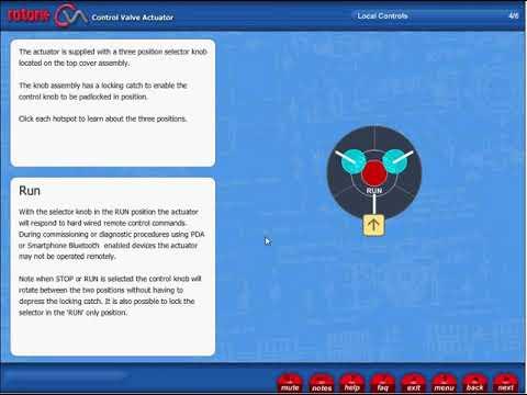 CVA Actuator - Local Controls