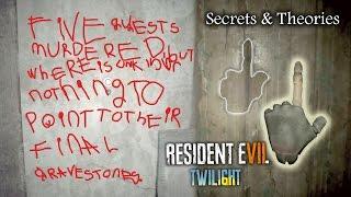 RESIDENT EVIL 7 DEMO UPDATE | DUMMY FINGER HAND & BLOOD MESSAGE | RE7 Secrets