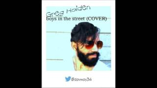 boys in the street COVER