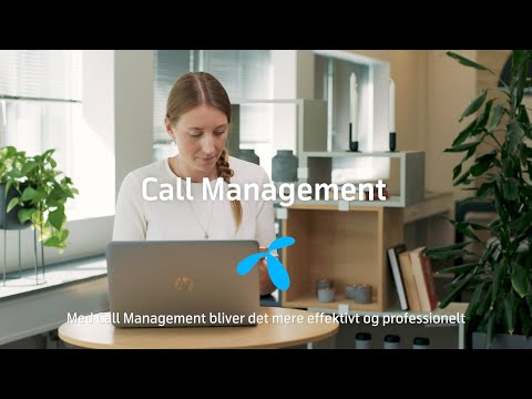 Byd kunderne velkommen med Call Management