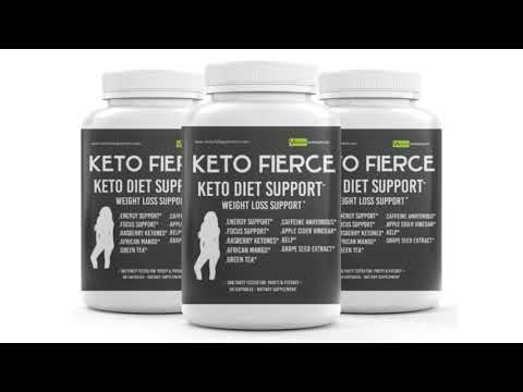 KETO FIERCE – Keto Weight Loss Supplements   African Mango  Benefits