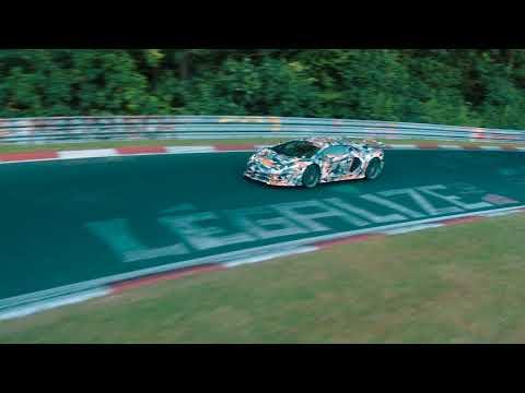 Aventador SVJ meets the Nürburgring